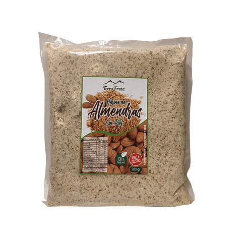 Harina de Almendras con Piel - 500 gr