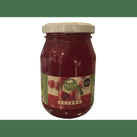 Cerezas Cherry  (MARRASQUINO) - Peso Neto: 240 gr - Peso drenado: 125 gr