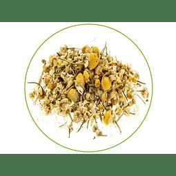 FLOR DE MANZANILLA- 30 gr - Presentación: (Tallos y Semillas deshidratados)