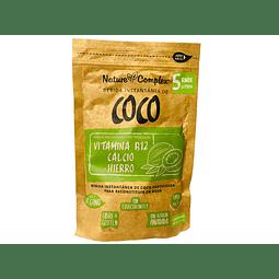 Bebida de Coco en Polvo 200 gr. Nature Complex, rinde 5 lts