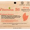 VITAMINA B6 - (90 porciones de 50 mg) - Peso Neto: 6,6 gr