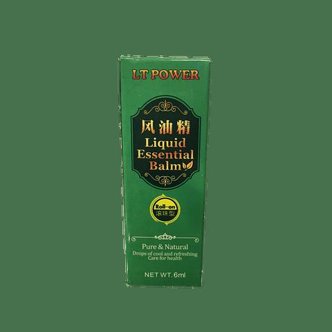 ACEITE ESENCIAL DE MENTOL 6 ml - c/roll-on -  (Alivia dolores de cabeza, mareos y picaduras de insectos)