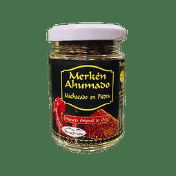 Ají Merkén Ahumado Nativo (machacado en piedra) - 60 gr - granel