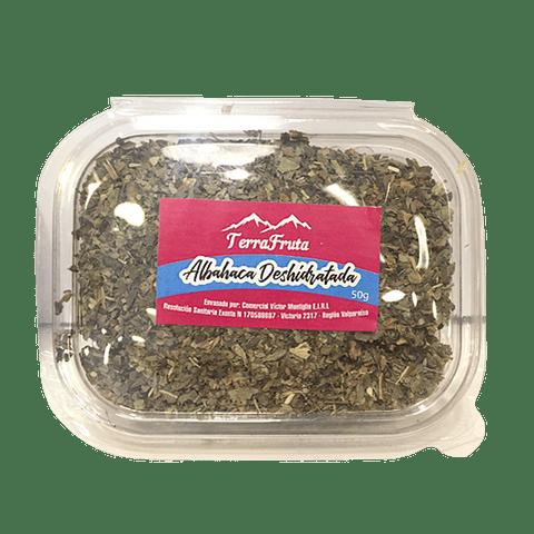 Albahaca deshidratada 50 gr - granel