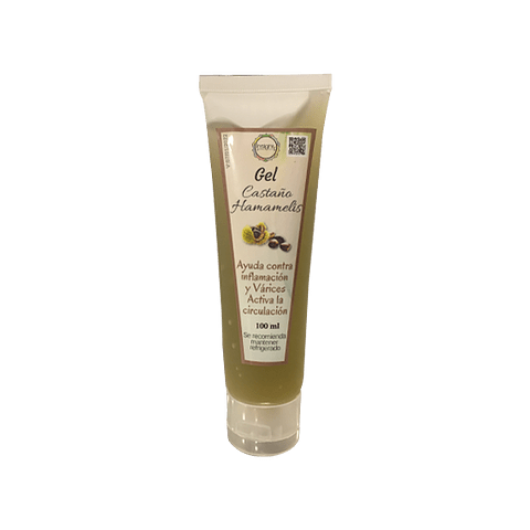 Gel Castaño y Hamamelis (para las Varices  y Circulación) - 100 ml