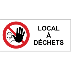 Local à déchets
