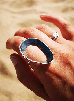 Keyhole Limpet Ring (XL)