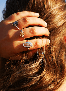 Cowry Ring