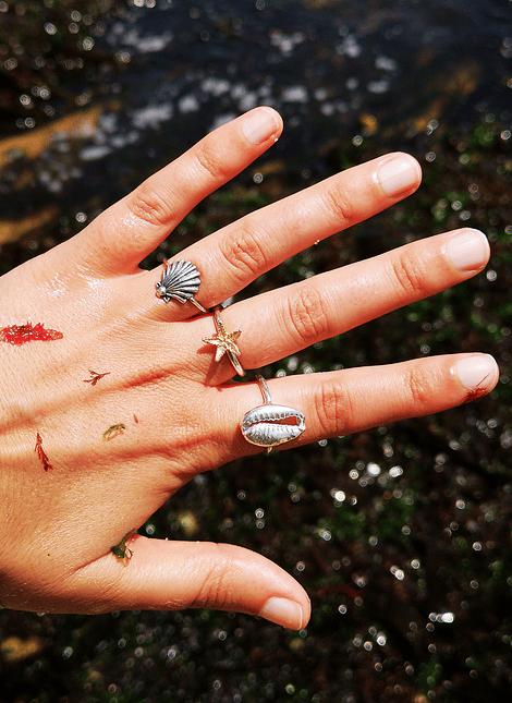 Sea Scallops Ring