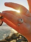 Anel Ajustável Ouriços do Mar
