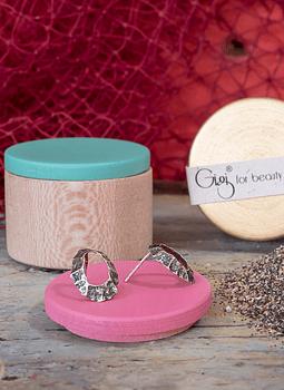 Keyhole Limpet Earrings (S)