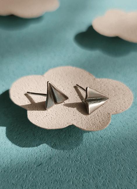 Paper Plane Earrings