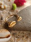 Cowry Adjustable Ring
