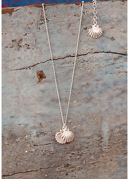 Sea Scallop  Necklace