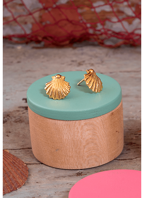 Sea Scallop Earrings