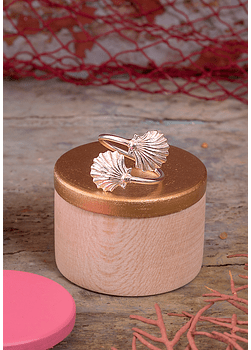 Sea Scallop Adjustable Ring