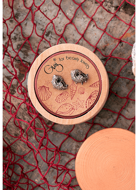 Curly Whelk Earrings
