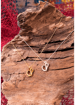 Sea Heart Whelk Necklace