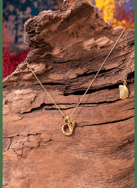 Sea Heart Whelk Necklace