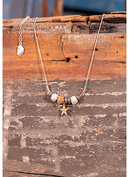 Seashells Fauna Necklace