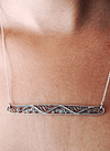 Filigree Wave Necklace