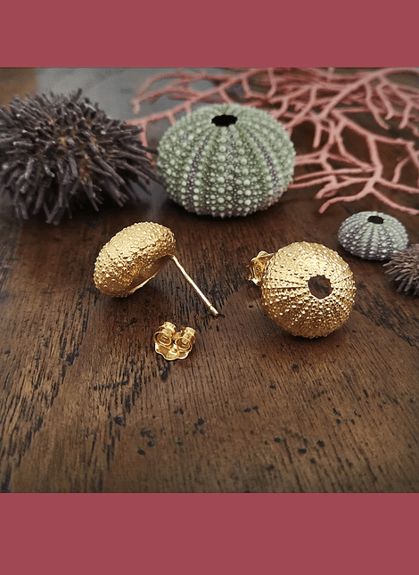 Sea Urchin Earrings (M)