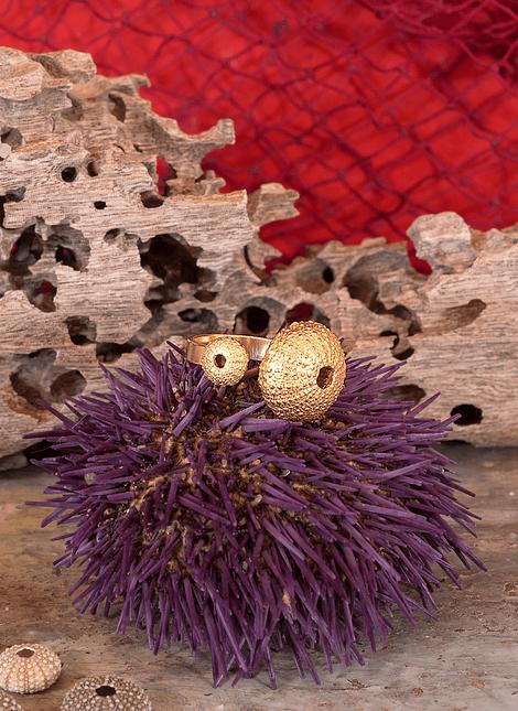 Adjustable Sea Urchin Ring