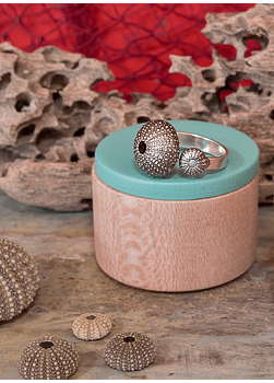 Adjustable Sea Urchin Ring