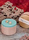 Sea Urchin Earrings (S)