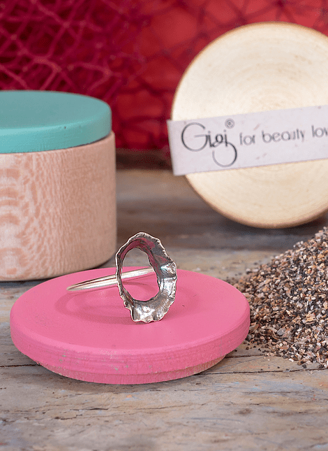 Keyhole Limpet Ring (S)