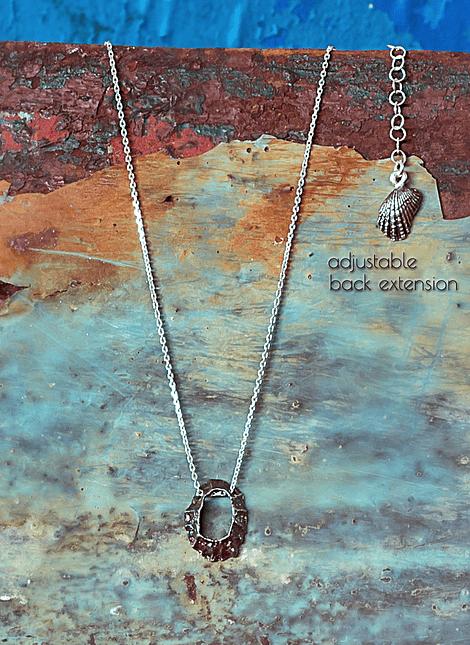 Keyhole Limpet Necklace (S)