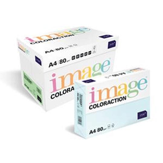 Бумага Image Coloraction A4 80г/м2 500 листов бледно-жёлтая