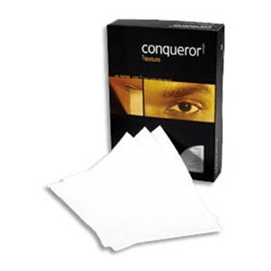 Бумага Conqueror Texture Laid, Brilliant White A4/100 гр. 500 листов