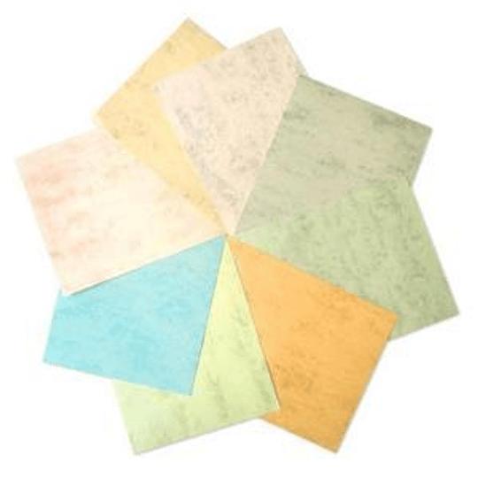 Бумага MARMOR A4/200г/м2 розовая 70 листов