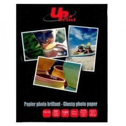 Фотобумага глянцевая A4/20 листов 180г/м2 UPrint