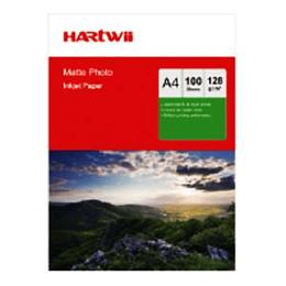 Fotopapīrs A4 108g 100lap matēts Hartwii