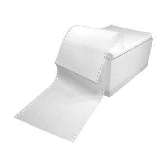 Бумага для принтера однослойная 15/210/15, 2000 страниц, белая