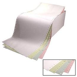 Printera papīrs četrslāņu 15/210/15, 450 kompl., krāsains