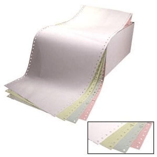 Бумага для принтера четырехслойная 15/210/15, 450 комплектов, цветная