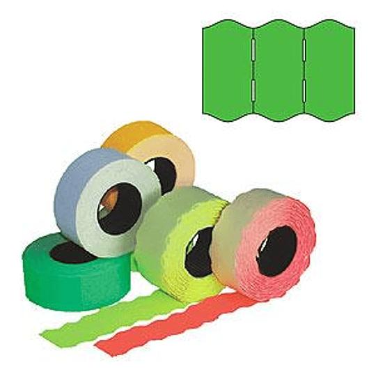 Маркировочная лента 22x12 зеленая 1000шт / рулон
