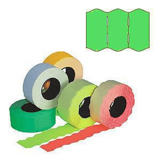 Маркировочная лента 22x12мм зеленая 1000шт / рулон