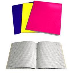 Klade A5/96 lapas, rūtiņu VARAVĪKSNE, laminēts vāks