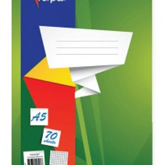 Тетрадь со спиралью А5/70 страниц, в линейку