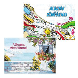 Zīmēšanas albums A4/30 lapas, ABC