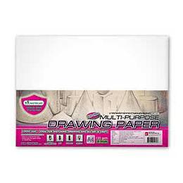 Zīmešanas papīrs A3/20 lapas DP201, 135g/m2 Masterart