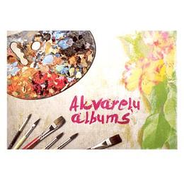 Akvareļu albums A4, 15 lapas 210g
