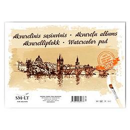 Akvareļu albums A3, 10 lapas, 200 g/m2, SMLT