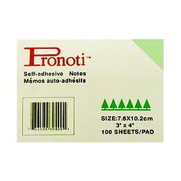 Līmlapiņas 102x76mm zaļas