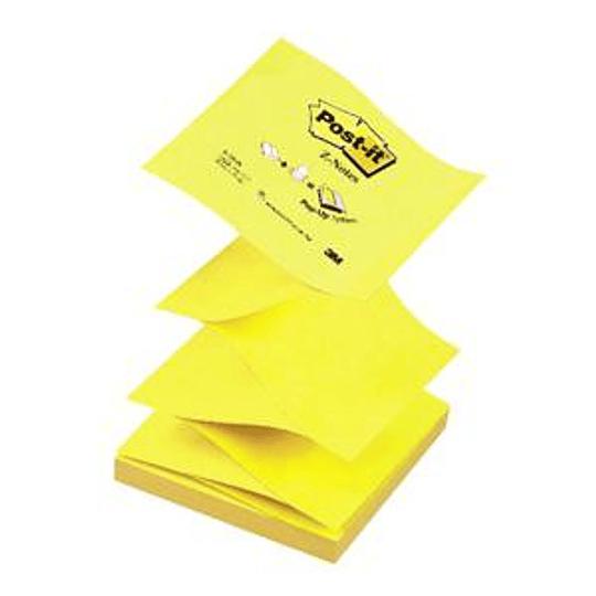 Стикеры 3M Z-вида 76x76/100 жёлтые
