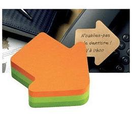 Līmlapiņu kubs 3M Post-it BULTA 3 krāsas, 225lap.